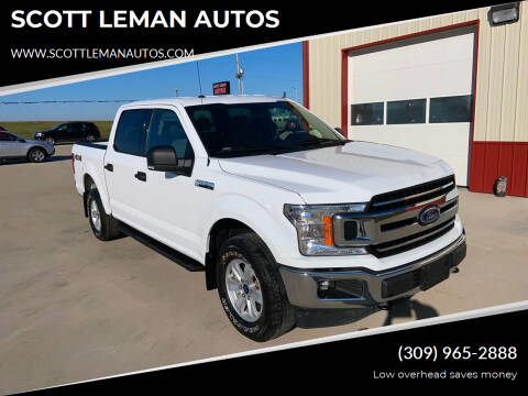 2018 Ford F-150 for sale at SCOTT LEMAN AUTOS in Goodfield IL