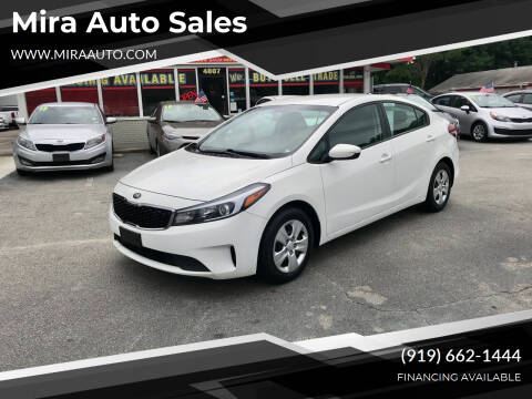 2017 Kia Forte for sale at Mira Auto Sales in Raleigh NC