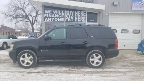 2007 Chevrolet Tahoe for sale at STERLING MOTORS in Watertown SD