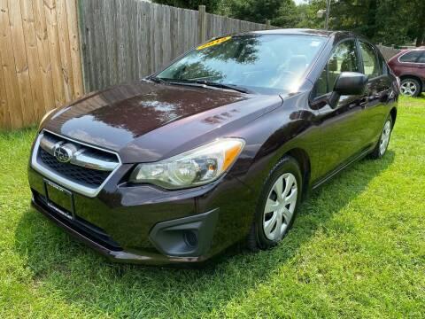 2012 Subaru Impreza for sale at ALL Motor Cars LTD in Tillson NY