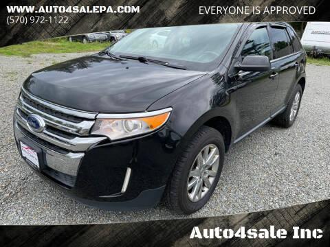 2014 Ford Edge for sale at Auto4sale Inc in Mount Pocono PA