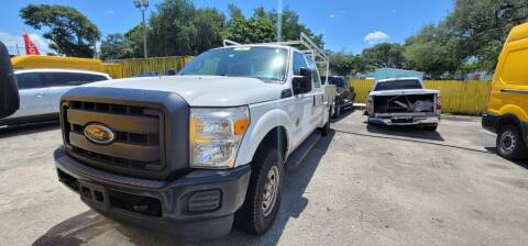 2014 Ford F-250 Super Duty for sale at H.A. Twins Corp in Miami FL
