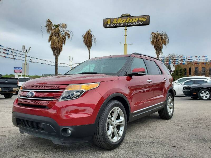 2014 Ford Explorer for sale at A MOTORS SALES AND FINANCE in San Antonio TX