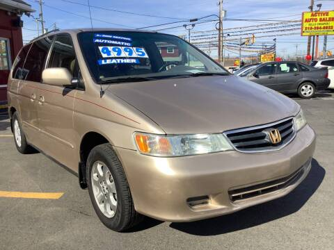 2002 Honda Odyssey for sale at Active Auto Sales in Hatboro PA