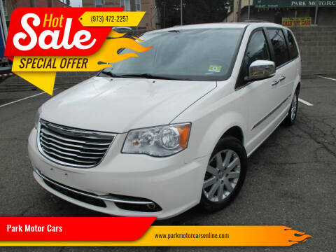 2011 Chrysler Town and Country for sale at Park Motor Cars in Passaic NJ