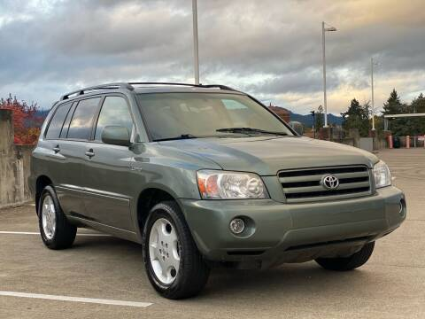 2006 Toyota Highlander for sale at Rave Auto Sales in Corvallis OR
