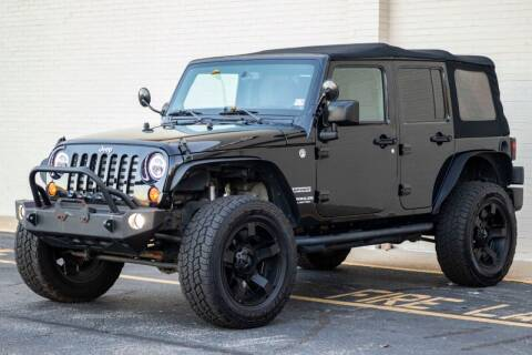 2013 Jeep Wrangler Unlimited for sale at Carland Auto Sales INC. in Portsmouth VA