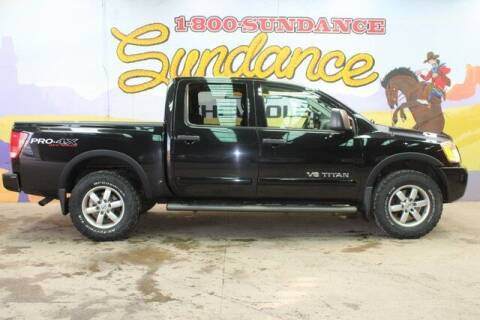 2012 Nissan Titan for sale at Sundance Chevrolet in Grand Ledge MI