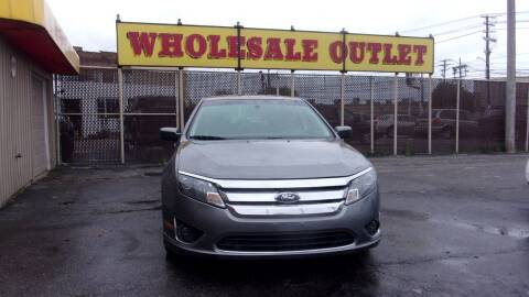 2012 Ford Fusion for sale at LONG BROTHERS CAR COMPANY in Cleveland OH