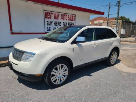 2008 Lincoln MKX for sale at Best Way Auto Sales II in Houston TX