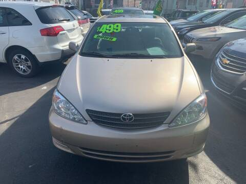 2002 Toyota Camry for sale at Best Cars R Us LLC in Irvington NJ
