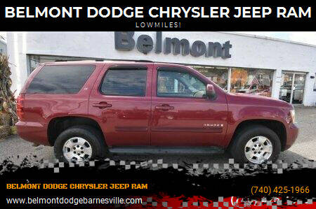 2007 Chevrolet Tahoe for sale at BELMONT DODGE CHRYSLER JEEP RAM in Barnesville OH