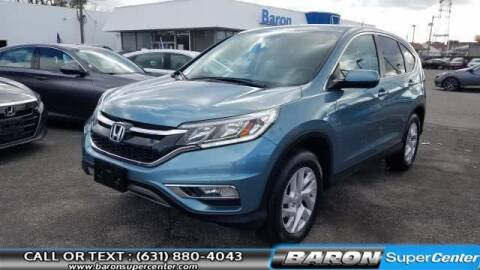 2015 Honda CR-V for sale at Baron Super Center in Patchogue NY