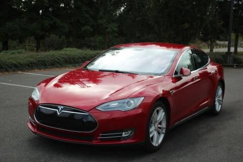 2014 Tesla Model S for sale at Top Gear Motors in Lynnwood WA