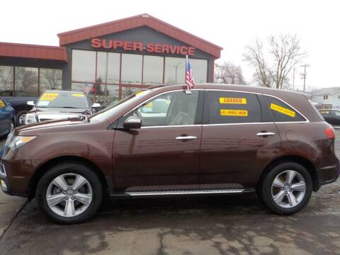 2011 Acura MDX for sale at Super Service Used Cars in Milwaukee WI