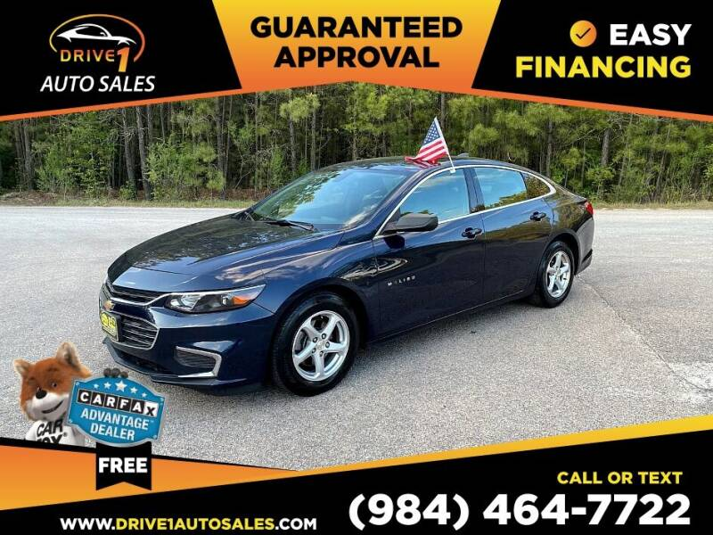 2016 Chevrolet Malibu for sale at Drive 1 Auto Sales in Wake Forest NC