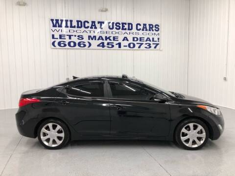 2013 Hyundai Elantra for sale at Wildcat Used Cars in Somerset KY