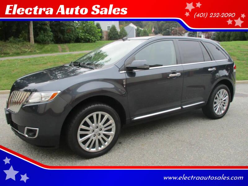 2013 Lincoln MKX for sale at Electra Auto Sales in Johnston RI
