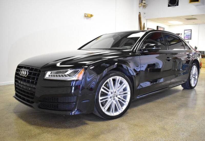 2017 Audi A8 L for sale at Thoroughbred Motors in Wellington FL