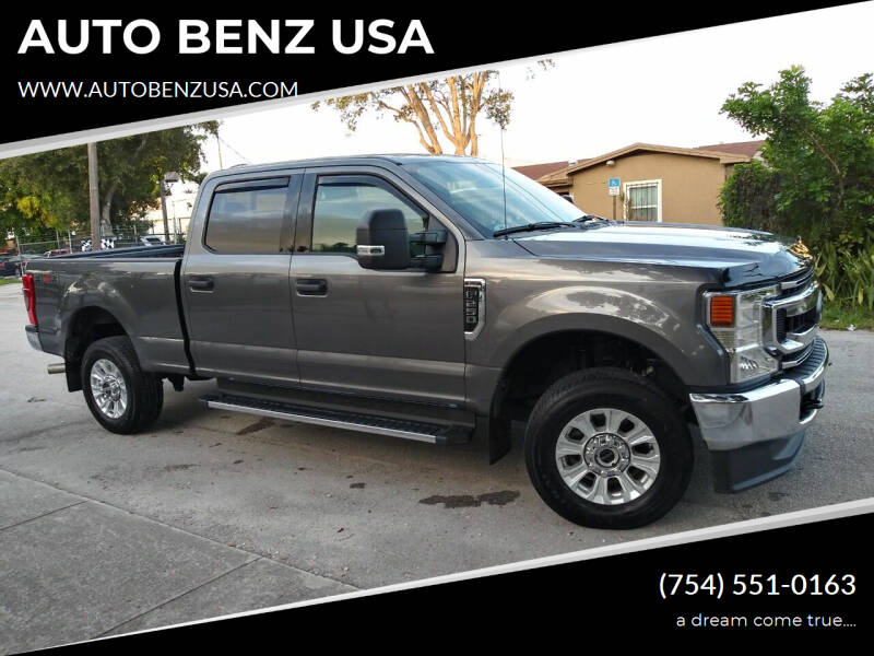 2021 Ford F-250 Super Duty for sale at AUTO BENZ USA in Fort Lauderdale FL
