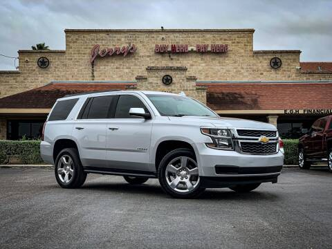 2019 Chevrolet Tahoe for sale at Jerrys Auto Sales in San Benito TX