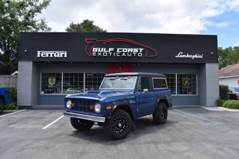 1976 Ford Bronco for sale at Gulf Coast Exotic Auto in Biloxi MS
