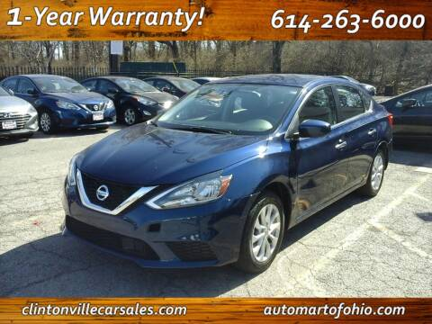 2018 Nissan Sentra for sale at Clintonville Car Sales - AutoMart of Ohio in Columbus OH