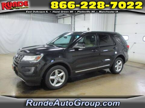 2016 Ford Explorer for sale at Runde Chevrolet in East Dubuque IL