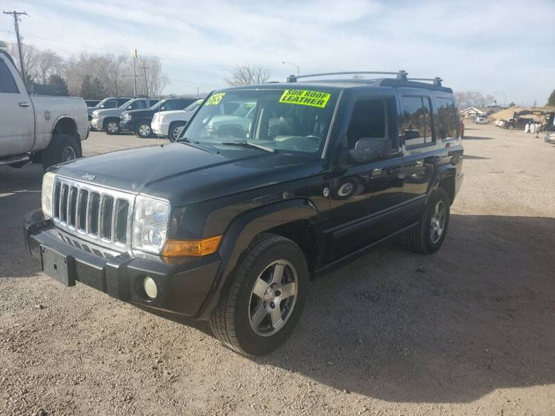 2009 Jeep Commander for sale at Canyon View Auto Sales in Cedar City UT