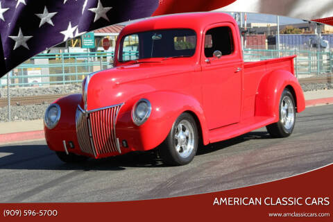 1941 Ford F-100 for sale at American Classic Cars in La Verne CA