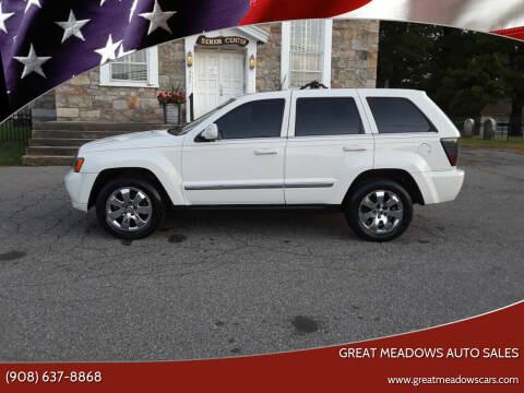 2008 Jeep Grand Cherokee for sale at GREAT MEADOWS AUTO SALES in Great Meadows NJ