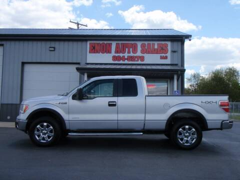 2013 Ford F-150 for sale at ENON AUTO SALES in Enon OH