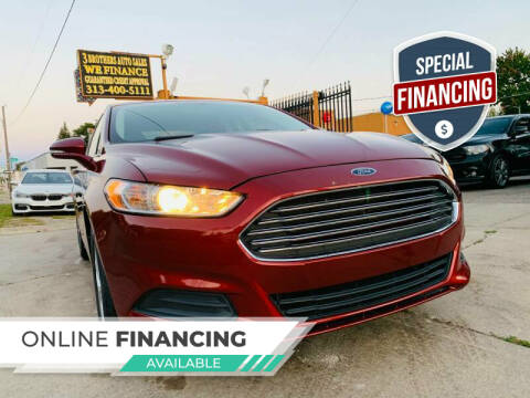 2014 Ford Fusion for sale at 3 Brothers Auto Sales Inc in Detroit MI