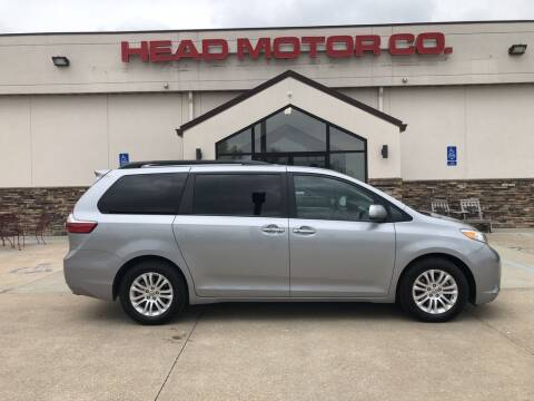 2017 Toyota Sienna for sale at Head Motor Company - Head Indian Motorcycle in Columbia MO