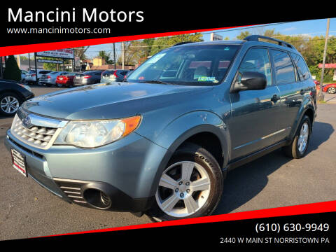 2011 Subaru Forester for sale at Mancini Motors in Norristown PA