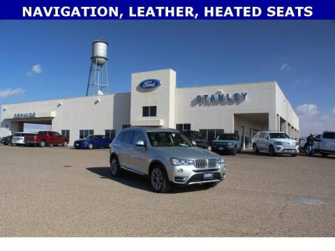 2017 BMW X3 for sale at STANLEY FORD ANDREWS in Andrews TX