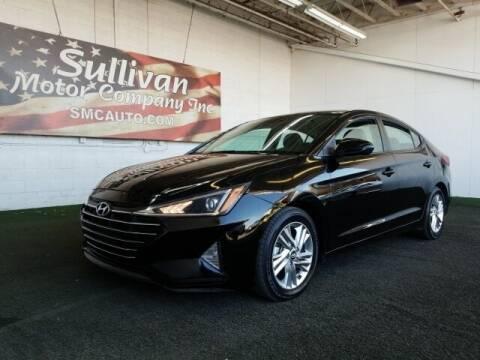 2019 Hyundai Elantra for sale at SULLIVAN MOTOR COMPANY INC. in Mesa AZ