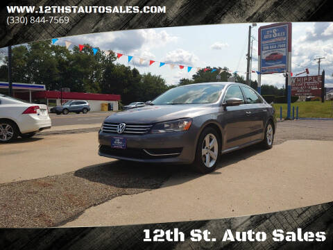 2012 Volkswagen Passat for sale at 12th St. Auto Sales in Canton OH