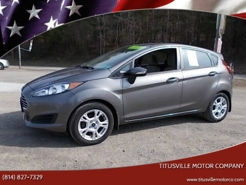 2014 Ford Fiesta for sale at Titusville Motor Company in Titusville PA