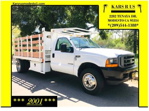 2001 Ford F-550 Super Duty for sale at KARS R US in Modesto CA