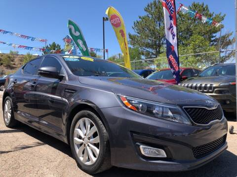 2015 Kia Optima for sale at Duke City Auto LLC in Gallup NM