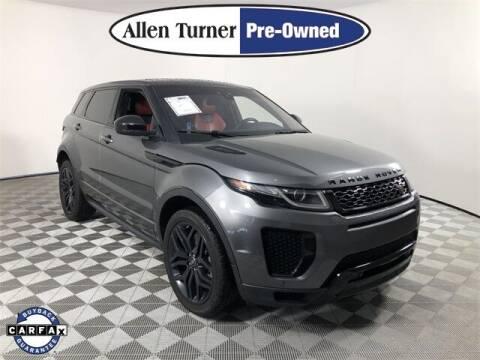 2018 Land Rover Range Rover Evoque for sale at Allen Turner Hyundai in Pensacola FL
