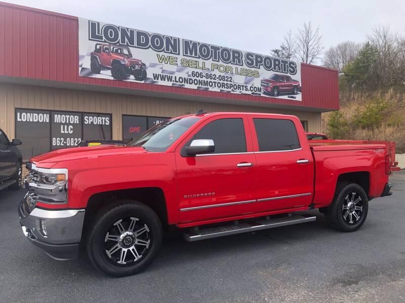 2016 Chevrolet Silverado 1500 for sale at London Motor Sports, LLC in London KY