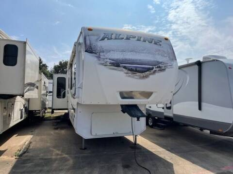 2010 Keystone Alpine 3500RE for sale at Buy Here Pay Here RV in Burleson TX