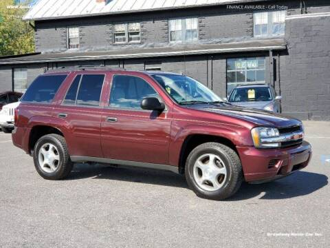 2007 Chevrolet TrailBlazer for sale at Broadway Motor Car Inc. in Rensselaer NY