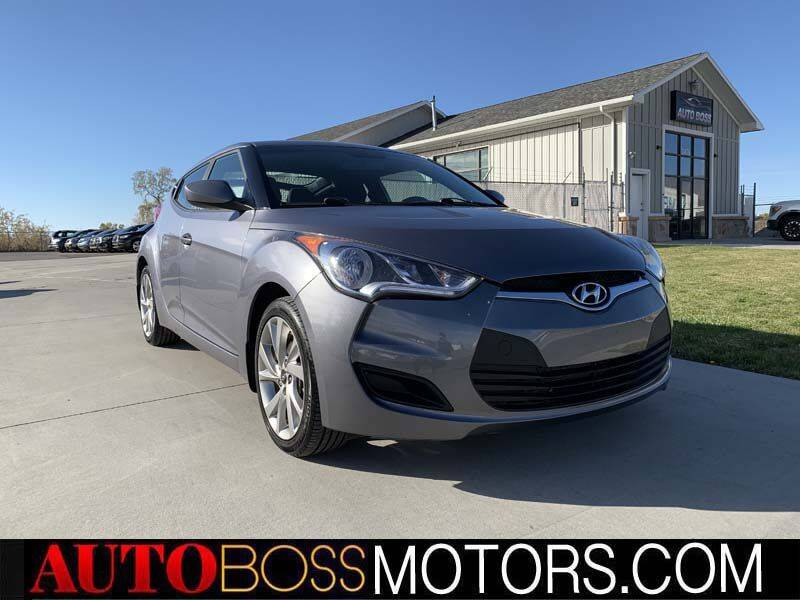 2016 Hyundai Veloster for sale at Auto Boss in Woodscross UT