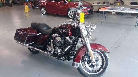 2015 Harley Davidson Road King for sale at Adams Enterprises in Knightstown IN