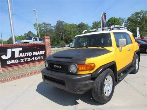 2008 Toyota FJ Cruiser for sale at J T Auto Group in Sanford NC