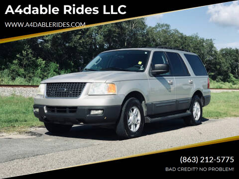 2005 Ford Expedition for sale at A4dable Rides LLC in Haines City FL
