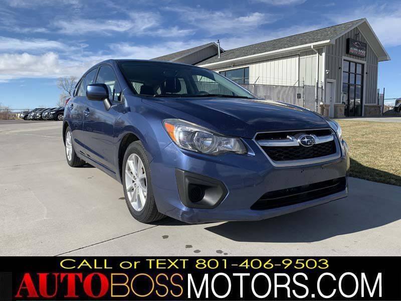 2013 Subaru Impreza for sale at Auto Boss in Woodscross UT